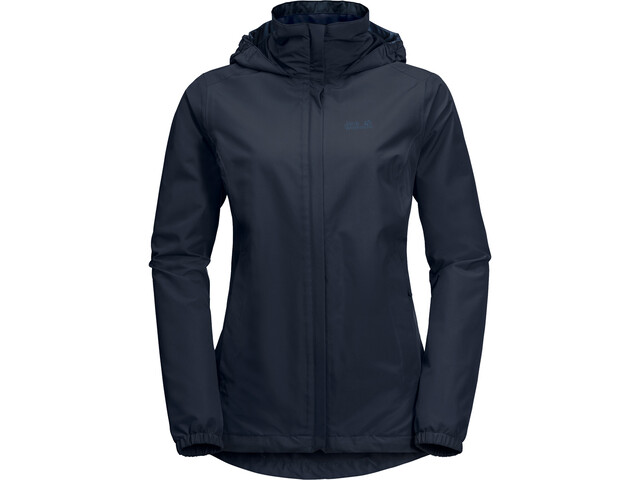 sale retailer 4fbfa 5dbd5 Jack Wolfskin Stormy Point Jacket Damen midnight blue